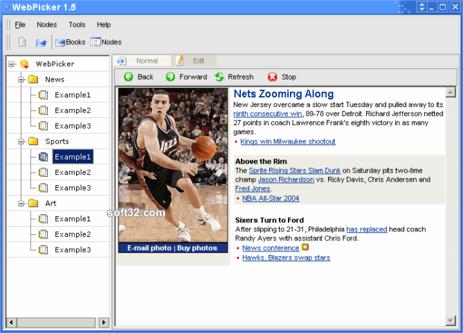 WebPicker Screenshot 2