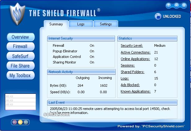 Shield Firewall Screenshot 2