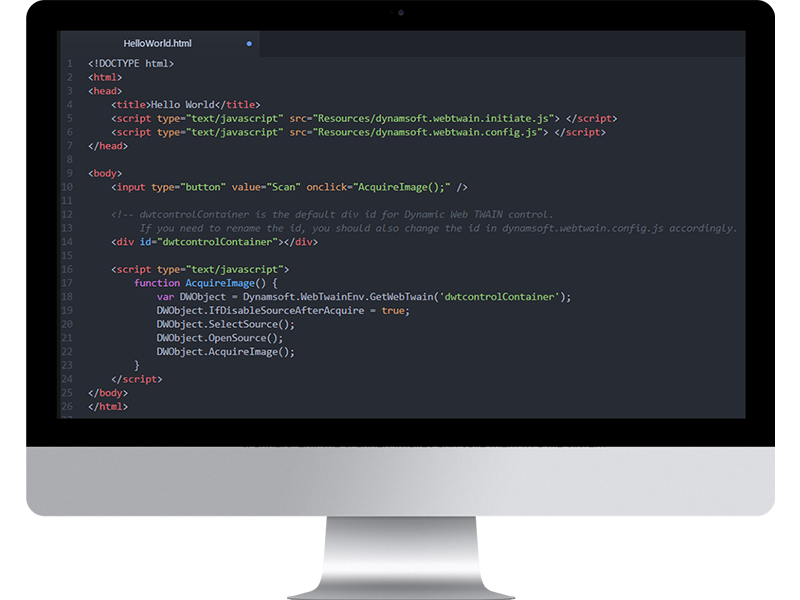 Dynamic Web TWAIN Screenshot 2