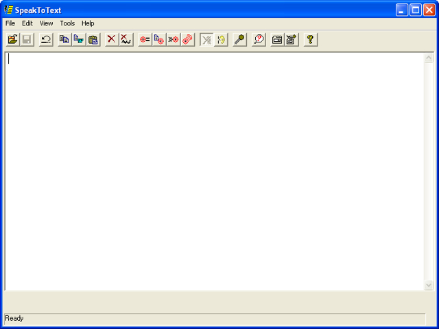 SpeaktoText Screenshot