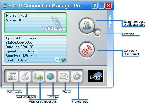 Connection Manager Lite Screenshot 2