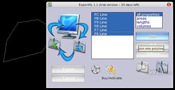 ExportXL Screenshot 2