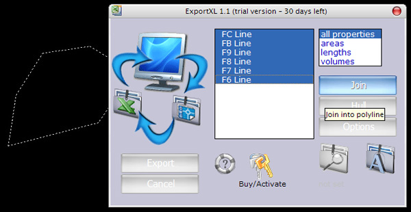 ExportXL Screenshot
