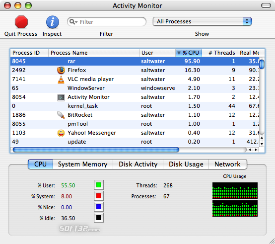 RAR for Mac OS X Screenshot 2