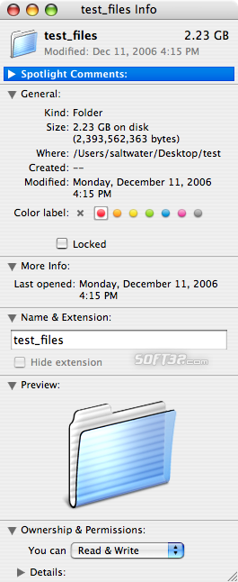 RAR for Mac OS X Screenshot 4