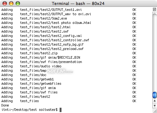 RAR for Mac OS X Screenshot 5