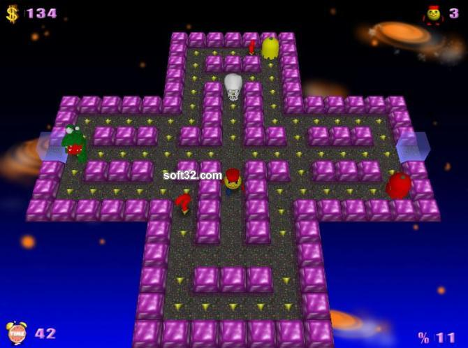 PacMan Adventures 3D Screenshot 2