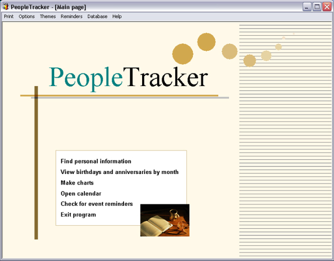 PeopleTracker Screenshot 1