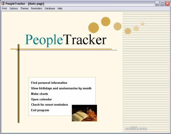 PeopleTracker Screenshot 3