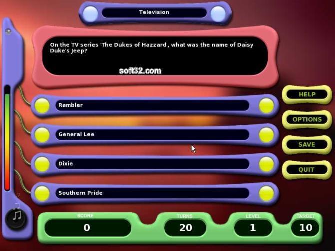 TriviaNet Challenge Screenshot