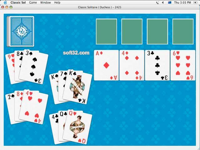 Classic Solitaire for Mac OSX Screenshot 2