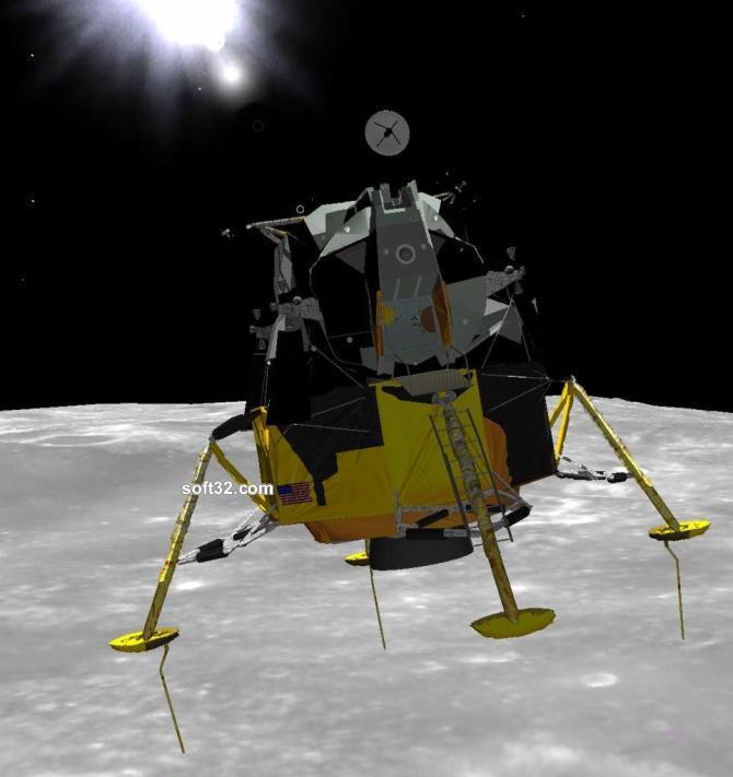 Eagle Lander 3D Screenshot 2