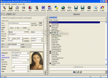 AddressBook for Windows Screenshot 3