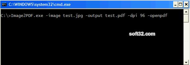 Image to PDF Command Line Tool Screenshot 2