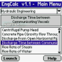 EngCalcLite(Hydraulic) - Palm Calculator 3
