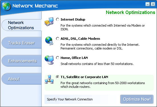 Network Mechanic Screenshot