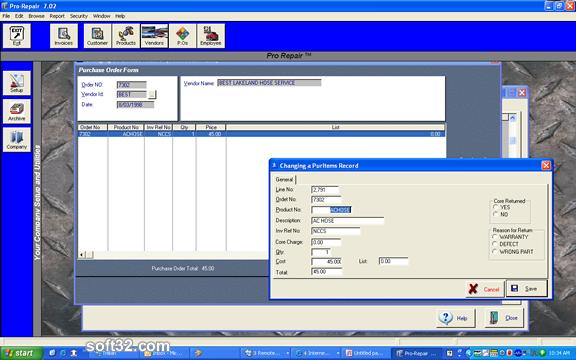Pro-Repair XRI Screenshot