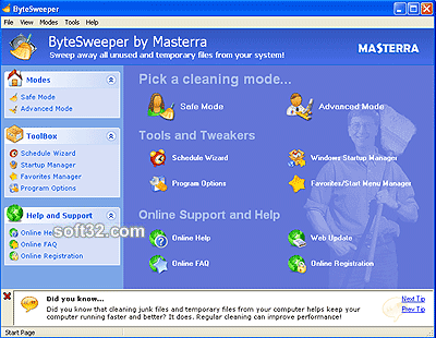 ByteSweeper Screenshot 2
