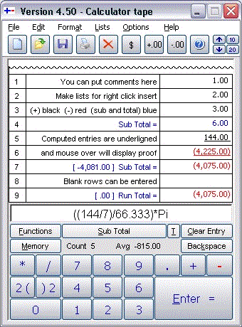 Calculator by Less-Mess