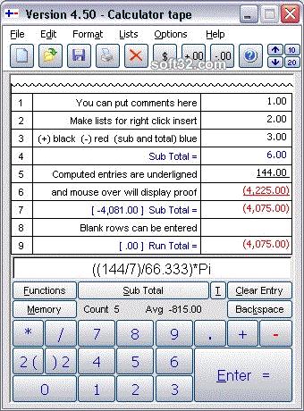 Calculator by Less-Mess Screenshot 2