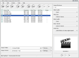 Ultra Video Converter Screenshot 1