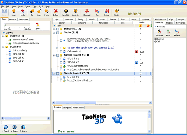TaoNotes 3D Screenshot 3