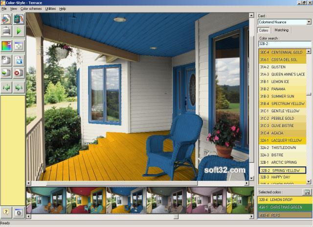 Color Style Studio (paint color schemes) Screenshot 3