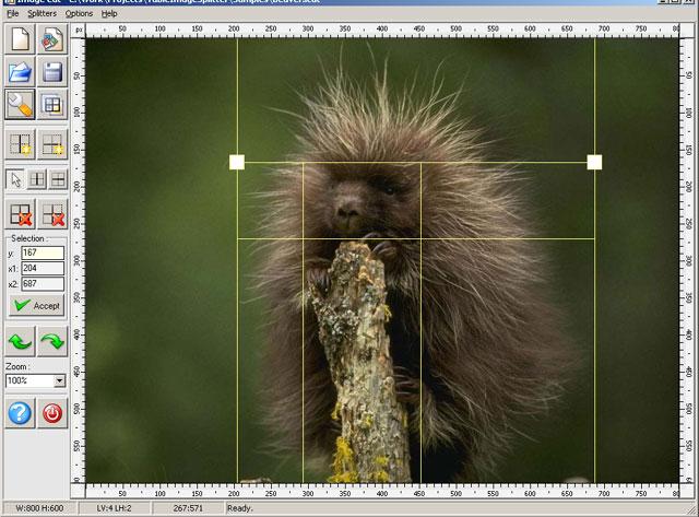 Image Cut (Image Splitter) Screenshot