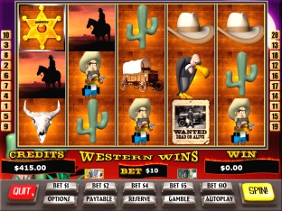 Western Wins Slots / Pokies Screenshot