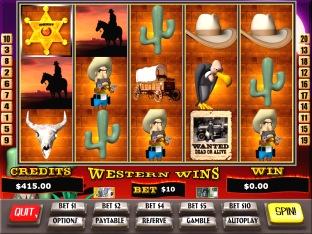 Western Wins Slots / Pokies Screenshot 1
