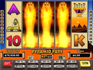 Pyramid Pays Slots / Pokies Screenshot 1