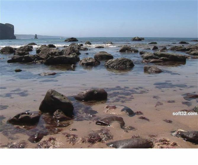 Selten Rock Pools Screensaver Screenshot 1