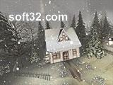 Snowy Winter 3D Screensaver Screenshot 3