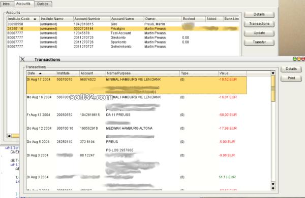 QBankManager Screenshot