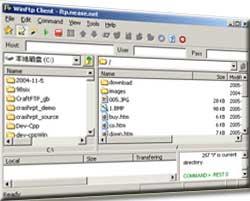 Win FTP Client Screenshot