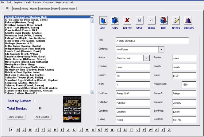 Book Tracker Collector Edition Screenshot