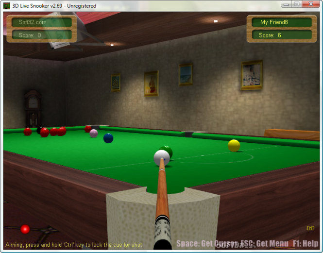3D Live Snooker Screenshot 4
