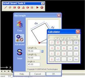 GrSoft Smart Tools X for AutoCAD Screenshot 3