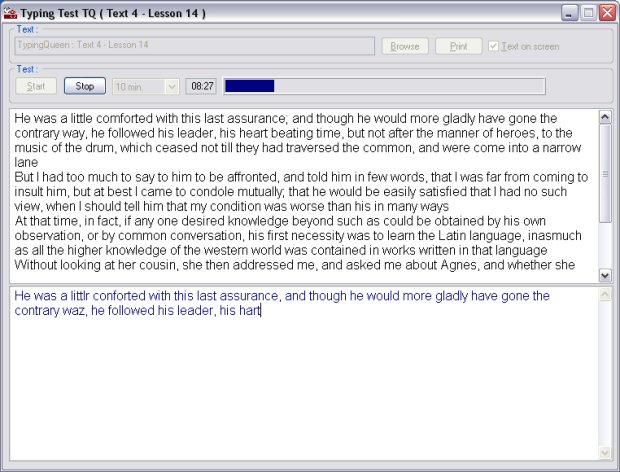 Typing Test TQ - Free Typing Test Screenshot 1