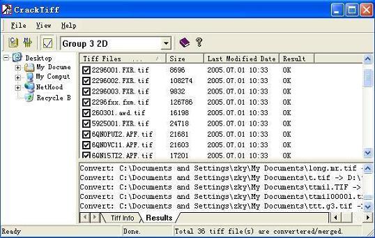 CrackTiff Screenshot 1