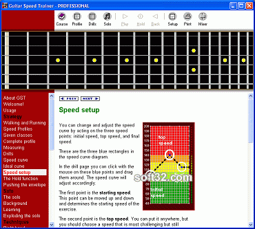 Guitar Speed Trainer Screenshot 2
