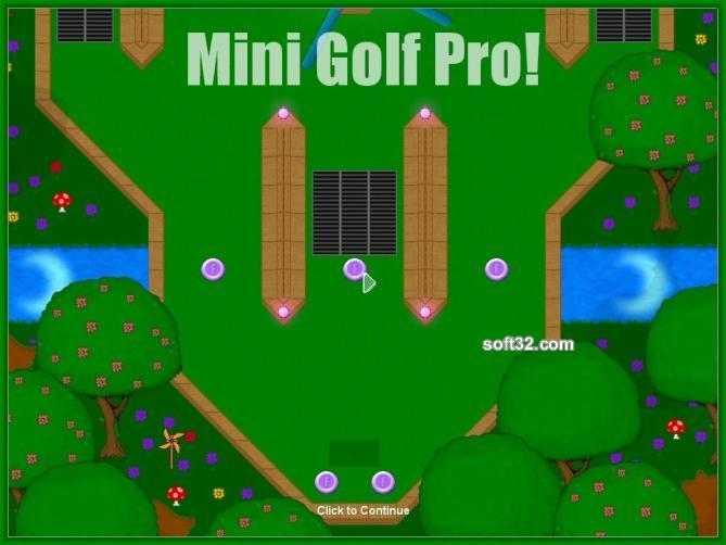 MiniGolf Pro (SE) Screenshot