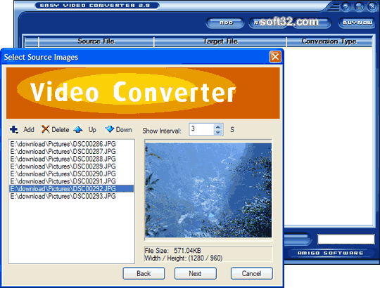 Easy Video Converter Screenshot 2