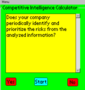 Competitive Intelligence Calculator for Palm OS 1