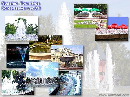 Russian Fountains Screensaver Screenshot 1