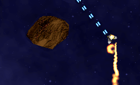 Asteroid ES Screenshot