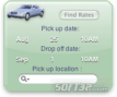Car Rental Widget 2