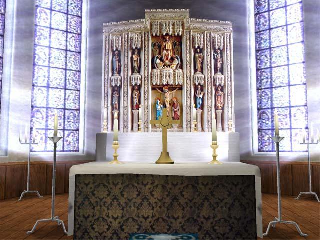 Church 3D screensaver Screenshot