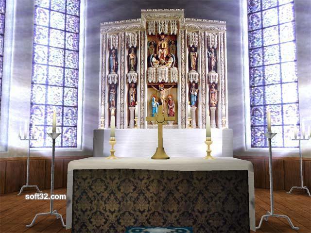 Church 3D screensaver Screenshot 3