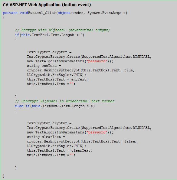 LLCryptoLib Screenshot